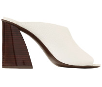 Izar Textured-leather Mules