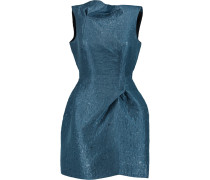 Zonda Layered Organza Mini Dress Petrol