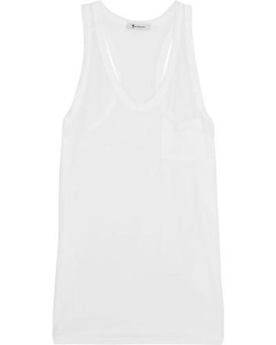 Classic Jersey Tank White