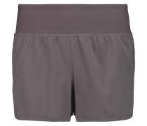Annabelle Stretch-jersey Shorts Grau