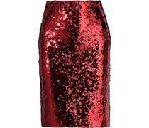 Ramos Sequined Stretch-tulle Pencil Skirt