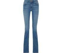 Marrakesh Mid-rise Flared Jeans Heller Denim