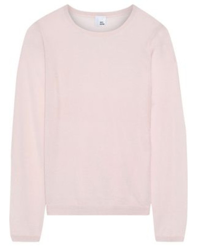 Lill Cashmere And Silk-blend Sweater Blush