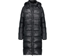 Deneb quilted shell hooded down coat