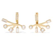 Sol Gold-tone Crystal Earrings