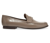 Townsend Leather Loafers Champignon