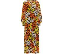 Floral-print Silk-georgette Midi Dress