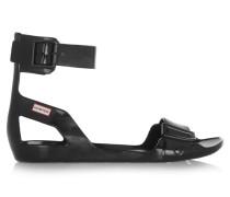 Vinyl Sandals Schwarz