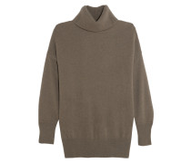 Grace Cashmere Turtleneck Sweater Champignon