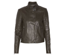 Marshall quilted leather biker jacket