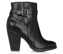 Patty Leather Ankle Boots Black