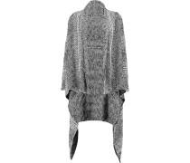 Marceau Oversized Knitted Cardigan Schwarz