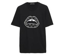 Alex T-shirt aus Baumwoll-jersey mit Pailletten