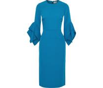 Two-tone Draped Cady Dress