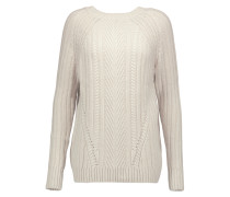 Cable-knit Sweater	 Creme