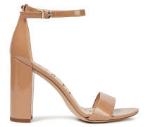 Yaro Faux Patent-leather Sandals