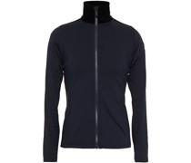 Stellaria Velvet-trimmed Jersey Jacket