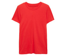 Woman Cotton-jersey T-shirt Red