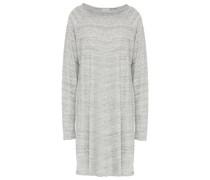 Minikleid aus Meliertem Baumwoll-jersey