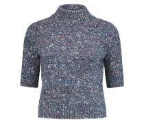 Jodie Chunky-knit Wool And Silk-blend Sweater Navy