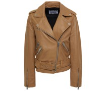 Allison Leather Biker Jacket