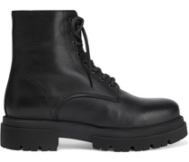 Hailey Leather Combat Boots