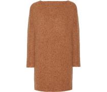 Bass Merino Wool-blend Dress Camel