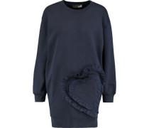 Ruffled cotton-jersey sweatshirt