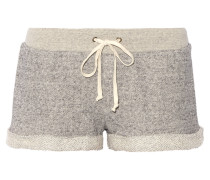 French Cotton-terry Shorts Grau