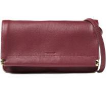 Yves Pebbled-leather Shoulder Bag