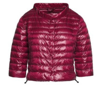 Elena quilted shell down jacket