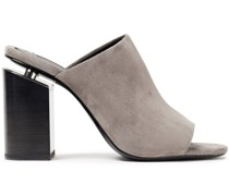 Avery Suede Mules