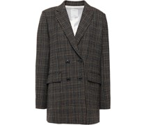 Doppelreihiger Blazer aus Tweed