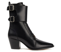 Caliope Ankle Boots aus Leder mit Schnalle