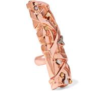 Marieuse Rose Gold-tone Ring Roségold
