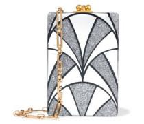 Carol Nouveau glittered acrylic shoulder bag