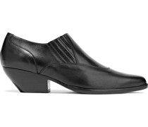 Eagan Leather Ankle Boots