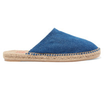Kadla Denim Espadrille Slippers Mittelblauer Denim