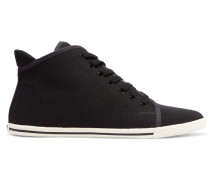 Canvas Sneakers Schwarz