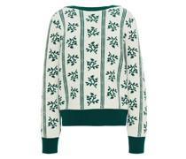 Merino Wool Jacquard Sweater