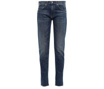 Dre Verkürzte, Tief Sitzende Skinny Jeans