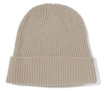 St Moritz ribbed-knit beanie