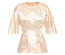 Woman Silk-satin Top Cream