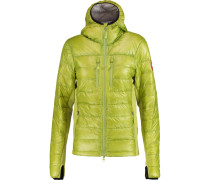 Hybridge Lite Hooded Quilted Shell Down Jacket Limette