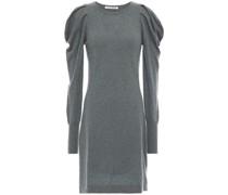 Gathered Cashmere Mini Dress