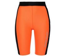 Printed Two-tone Scuba Shorts