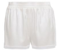 Cressie Charming Pyjama-shorts aus Satin aus Einer Seidenmischung mit Spitzenbesatz