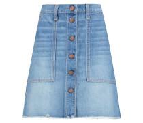 The Naval denim mini skirt