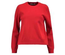 Stretch-knit sweatshirt