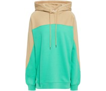 Two-tone French Cotton-terry Hoodie